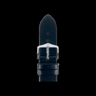Hirsch Uhren-Armband Wild Calf Schwarz 13600250-2-12