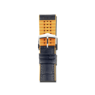 Hirsch Uhren-Armband Andy Orange 0927628050-2-24