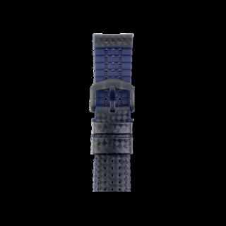 Hirsch Uhren-Armband Ayrton Blau 0918092050-5-20