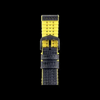 Hirsch Uhren-Armband Ayrton Gelb Matt 0917292050-5-20