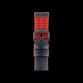 Hirsch Uhren-Armband Ayrton Rot 0912092050-5-20
