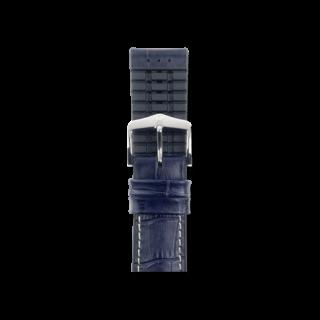 Hirsch Uhren-Armband George Blau 0925128080-2-20