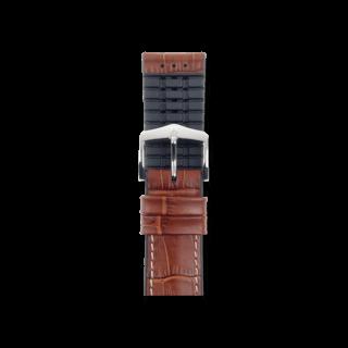 Hirsch Uhren-Armband George Goldbraun 0925128070-2-24