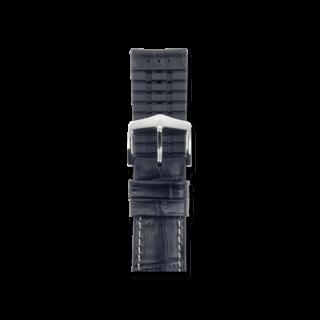 Hirsch Uhren-Armband George Schwarz 0925128050-2-20