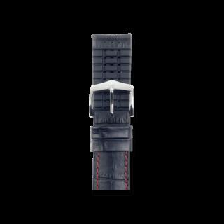 Hirsch Uhren-Armband George Schwarz 0925128052-2-20