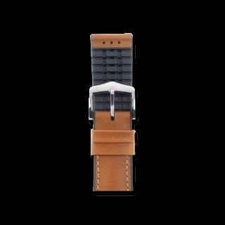 Hirsch Uhren-Armband James Goldbraun 0925002170-2-20