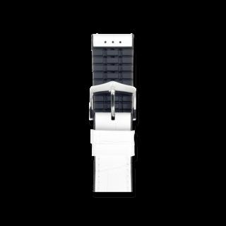 Hirsch Uhren-Armband Paul Weiß 0925028100-2-18