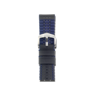 Hirsch Uhren-Armband Robby Blau 0918094050-4-22