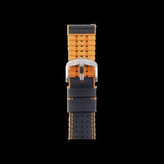 Hirsch Uhren-Armband Robby Orange 0917694050-4-20