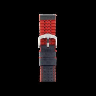 Hirsch Uhren-Armband Robby Rot 0912094050-4-21