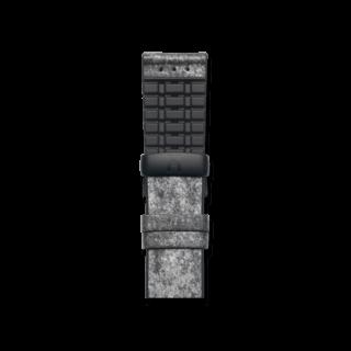 Hirsch Uhren-Armband Stone Schwarz 0925044032-5-22