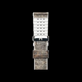 Hirsch Uhren-Armband Stone Weiß 0920044131-2-18