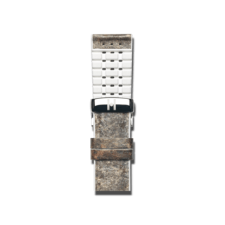 Hirsch Uhren-Armband Stone Weiß 0920044131-2-20