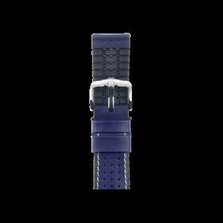 Hirsch Uhren-Armband Tiger Blau 0915075080-2-18