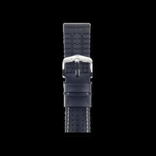 Hirsch Uhren-Armband Tiger Schwarz 0915075050-2-18