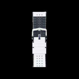 Hirsch Uhren-Armband Tiger Weiß 0915075000-2-20