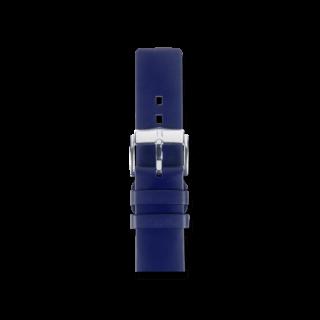 Hirsch Uhren-Armband Pure Blau 40538880-2-20