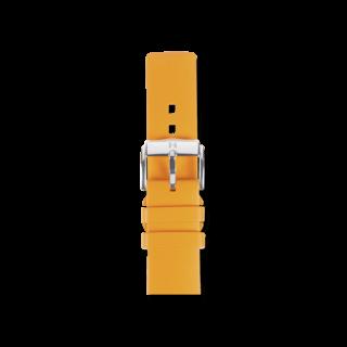 Hirsch Uhren-Armband Pure Orange 40538876-2-22
