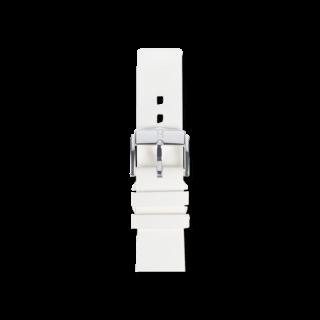 Hirsch Uhren-Armband Pure Weiß 40418800-2-20