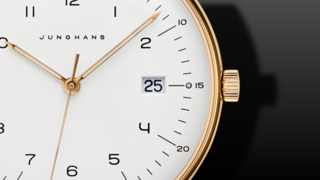 Junghans Max Bill Gold