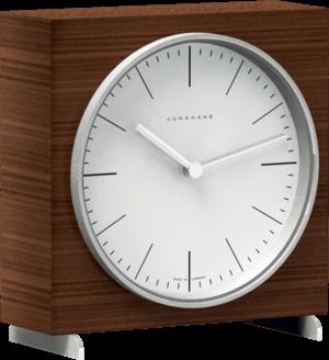 Tischuhr Junghans Max Bill Tischuhr Quarz aus Holz