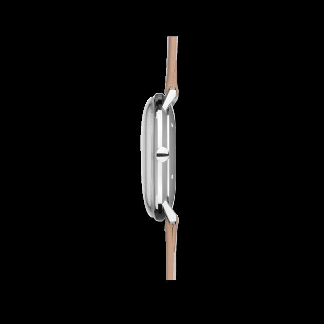 Herrenuhr Junghans Max Bill Automatic mit schwarzem Zifferblatt und Kalbsleder-Armband bei Brogle