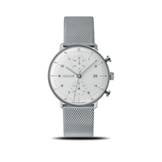 Junghans Herrenuhr Max Bill Chronoscope 027/4003.48