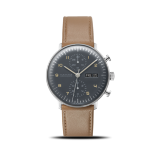 Junghans Herrenuhr Max Bill Chronoscope 027/4501.04