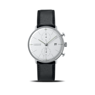 Junghans Herrenuhr Max Bill Chronoscope 027/4600.04