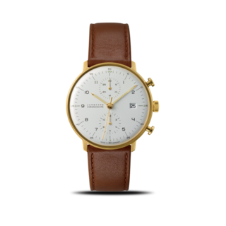 Junghans Herrenuhr Max Bill Chronoscope 027/7800.04