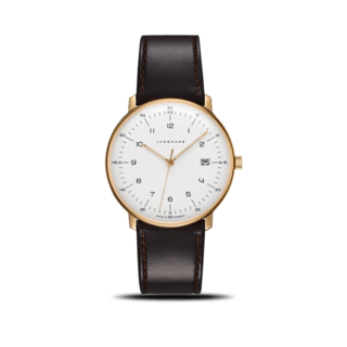 Junghans Herrenuhr Max Bill Quarz Gold 041/7872.00