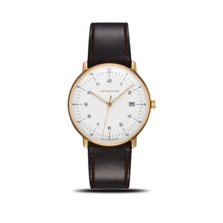 Junghans Herrenuhr Max Bill Quarz Gold 041/7872.04