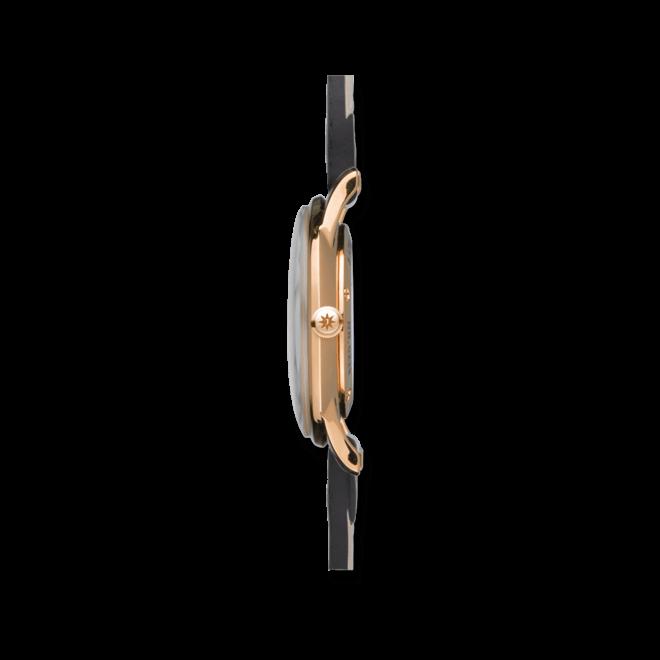 Damenuhr Junghans Meister Damen mit grauem Zifferblatt und Pferdeleder-Armband bei Brogle