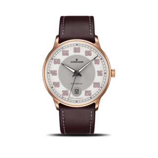 Junghans Herrenuhr Meister Driver Automatic Gold 027/7710.00