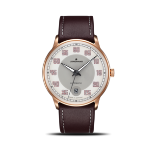 Junghans Armbanduhr Meister Driver Automatic Gold 027/7710.00