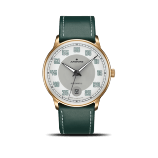 Junghans Herrenuhr Meister Driver Automatic Gold 027/7711.00