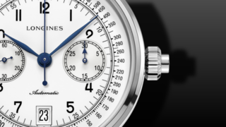 Longines Column Wheel Single Push Chronograph 41mm