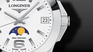 Longines Conquest Mondphase Quarz 29,5mm