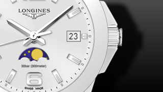 Longines Conquest Mondphase Quarz 34mm