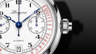 Longines Heritage Single Push Pulsometer Chronograph