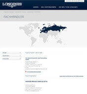 Longines Konzession Screenshot