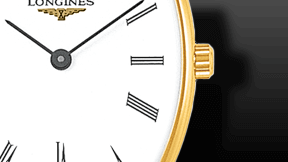 Longines La Grande Classique Quarz 22mm x 24,5mm