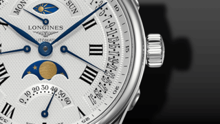 Longines Master Retrograde Mondphase 41mm