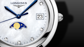 Longines PrimaLuna Mondphase Quarz 34mm