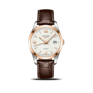 Longines Herrenuhr Conquest Classic Automatik 40mm L2.785.5.76.3