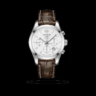 Longines Herrenuhr Conquest Classic Automatik Chronograph 41mm L2.786.4.76.3