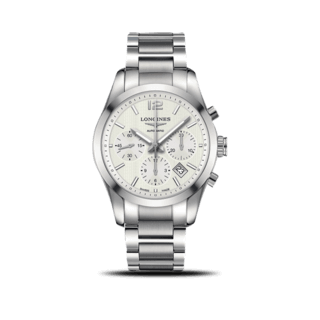 Longines Herrenuhr Conquest Classic Automatik Chronograph 41mm L2.786.4.76.6