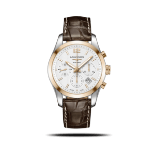 Longines Herrenuhr Conquest Classic Automatik Chronograph 41mm L2.786.5.76.3