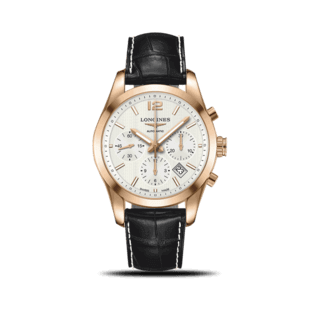 Longines Herrenuhr Conquest Classic Automatik Chronograph 41mm L2.786.8.76.3