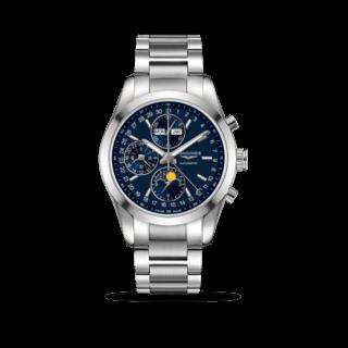 Longines Herrenuhr Conquest Classic Automatik Chronograph 42mm St. Moritz 2017 L2.798.4.96.6